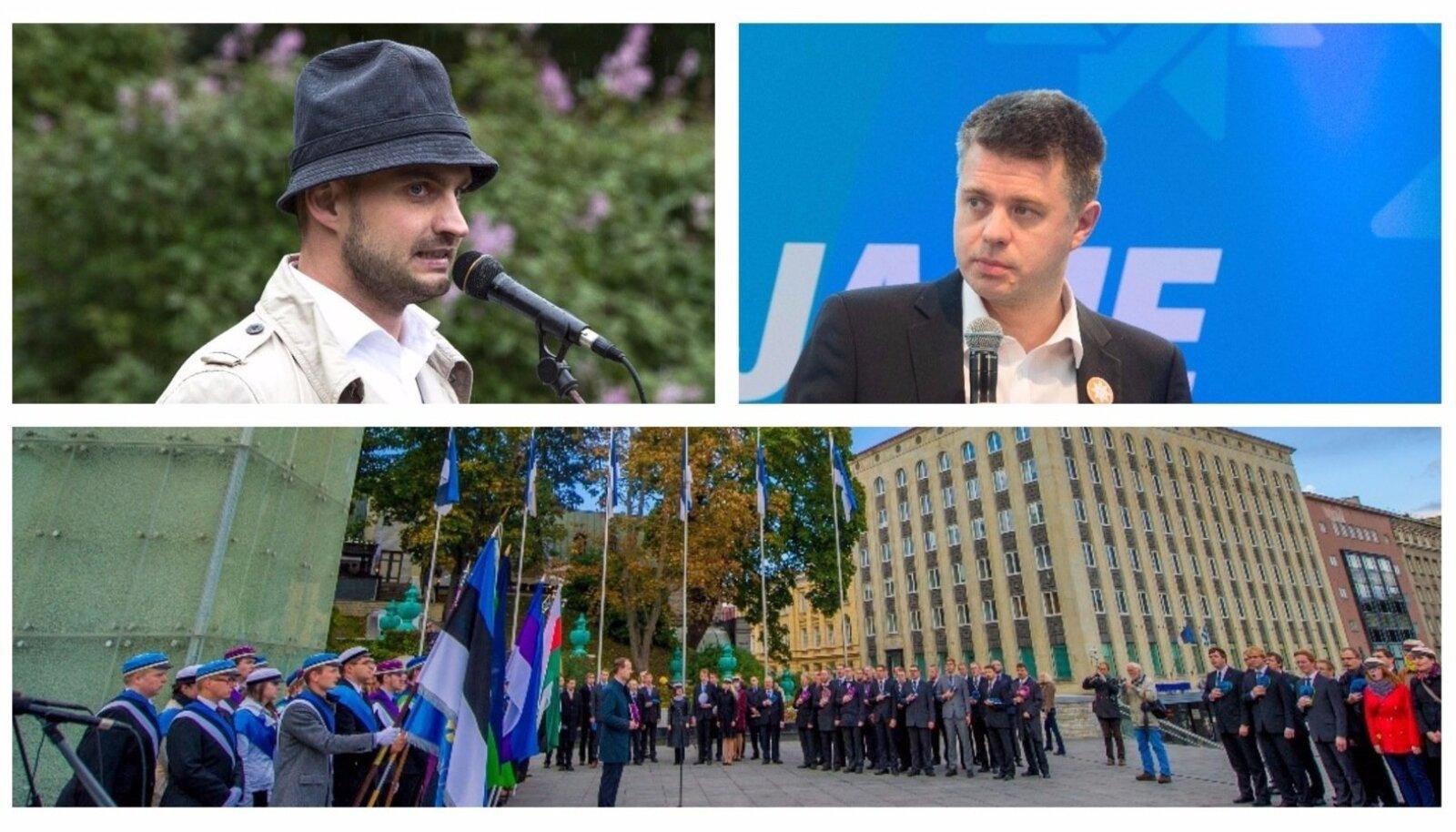 Vastupanuvõitluse päev/Georg Kirsberg ja Urmas Reinsalu