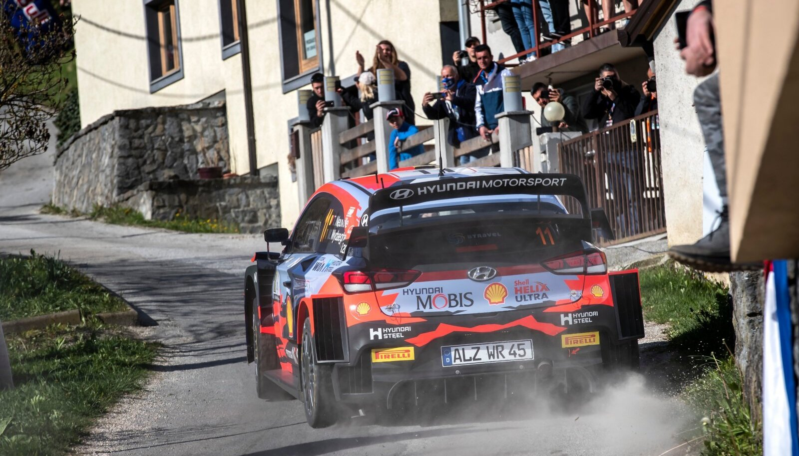 Thierry Neuville Horvaatia rallil