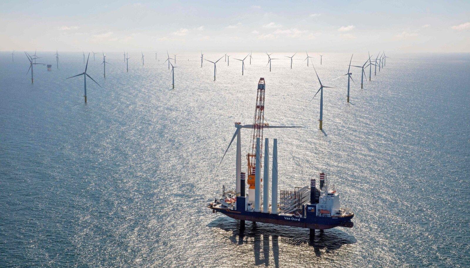 2017. aasta mais Hollandi rannikul valminud Gemini meretuulepark, mille ehitusel lõi ka Van Oord kaasa, on tänaseni üks suuremaid meretuuleparke maailmas.