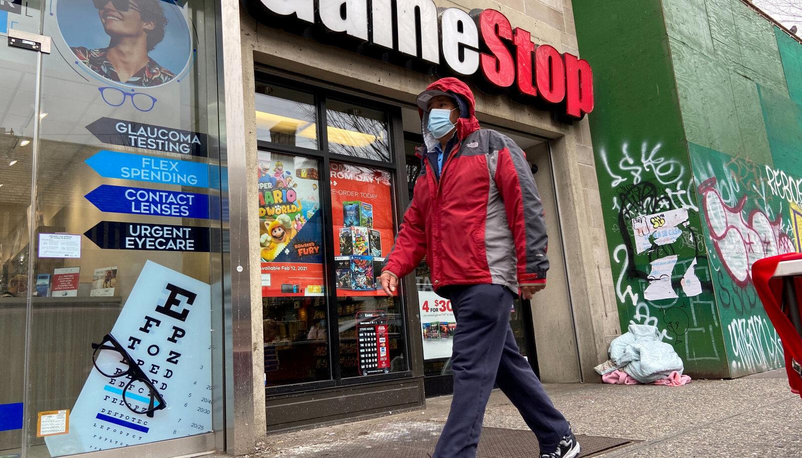 Swedbanki Eesti kliendid müüsid aprillis enim GameStopi aktsiat