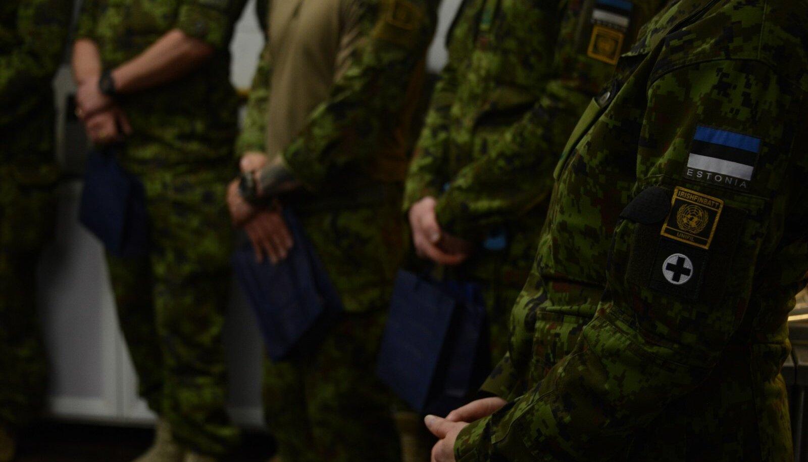 Mikser tähistas koos Liibanonis teenivate kaitseväelastega Eesti 100. sünnipäeva