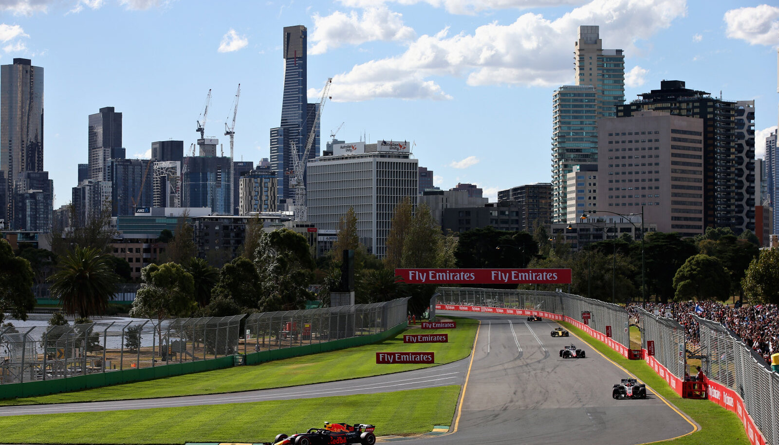 Albert Parki ringrada Melbourne'is