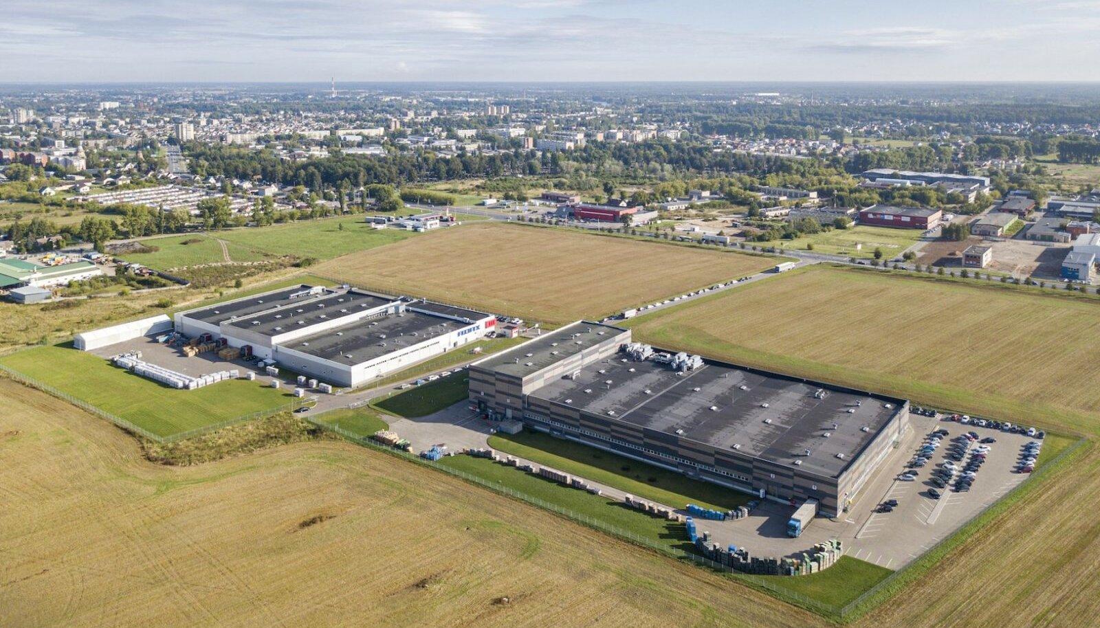 Ostetud tööstushooned Panevėžyses