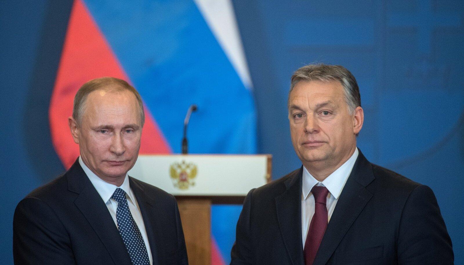 Putin ja Orban