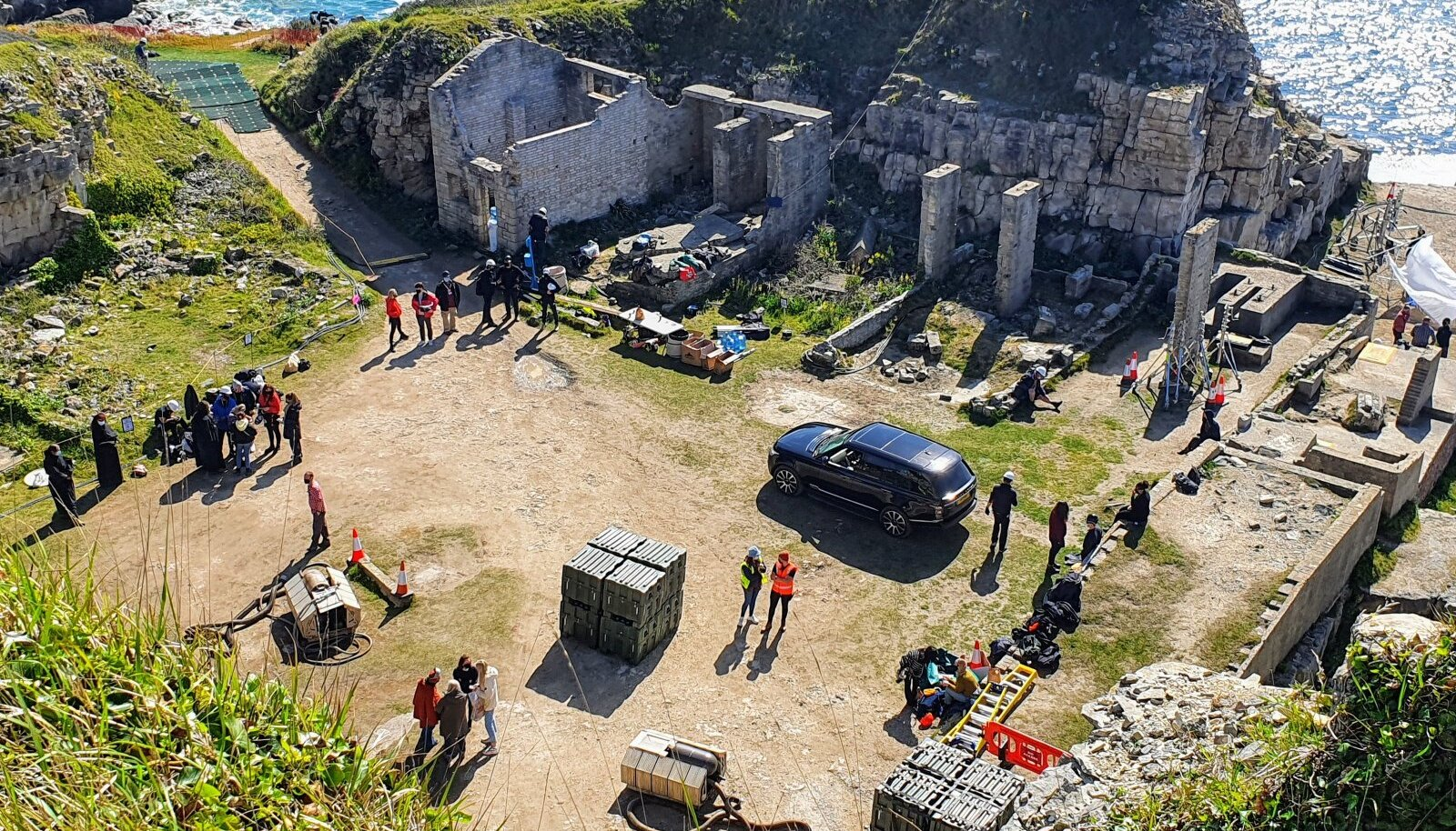 Filming of new Star Wars series in Dorset