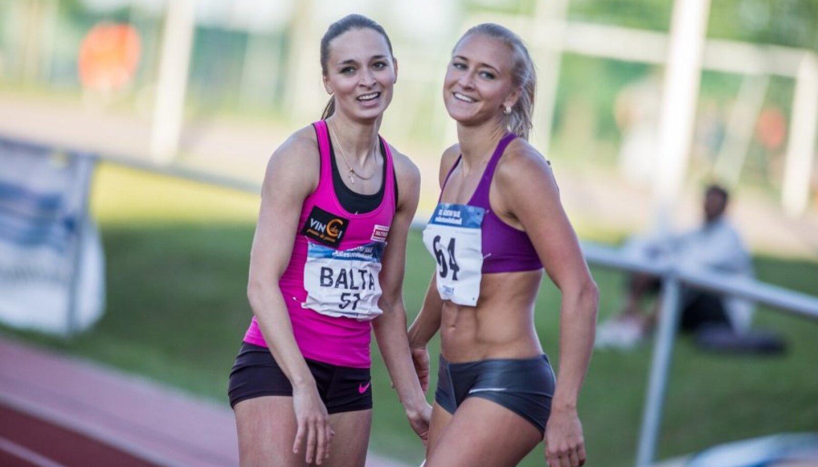 Ksenija Balta ja Maris Mägi
