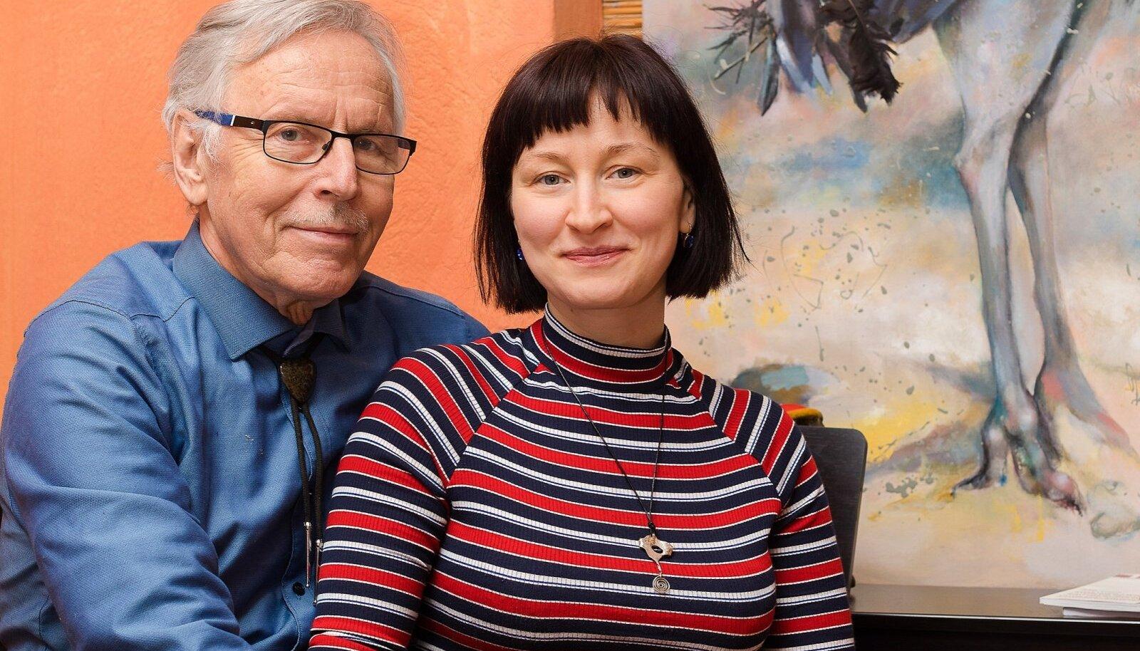 Enn ja Katrin Tegova.