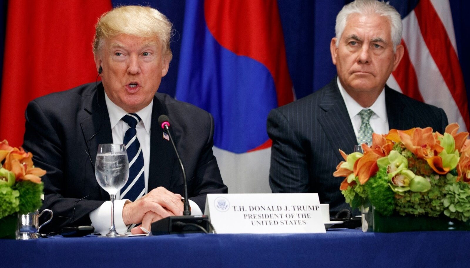 Donald Trump ja Rex Tillerson