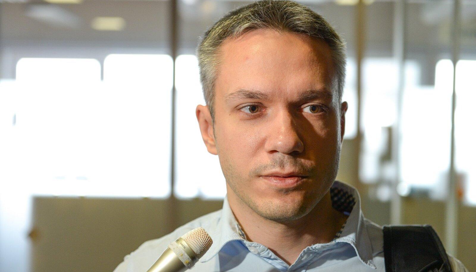Keskerakonna fraktsiooni aseesimees Andrei Korobeinik.