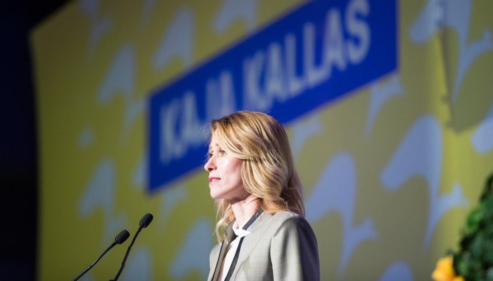 Kaja Kallas valiti äsja Reformierakonna esimeheks.