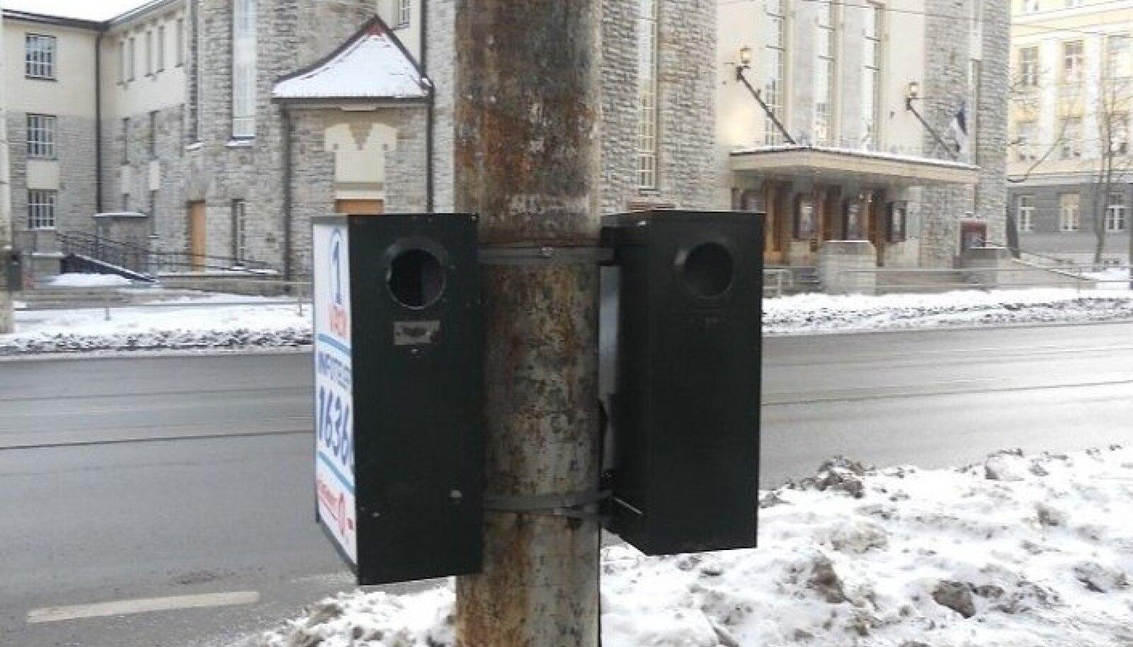 Roostetanud tänavapostist 2012. aastal tehtud pilt, mis saadeti linnavalitsusele.