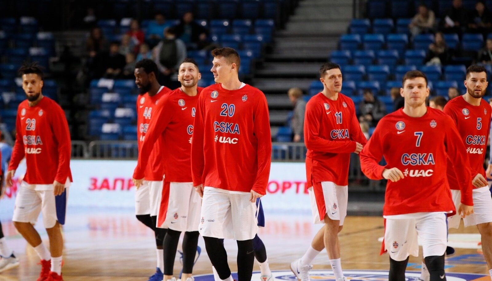 Moskva CSKA mängijad