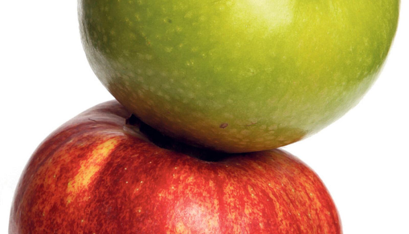 Ilus ja läikiv õun  võib  välja näha kui Lumivalgekese kurja võõrasema  oma. Tervisele ohtu see siiski  ei kujuta. Vaha  tuleb lihtsalt maha pesta.