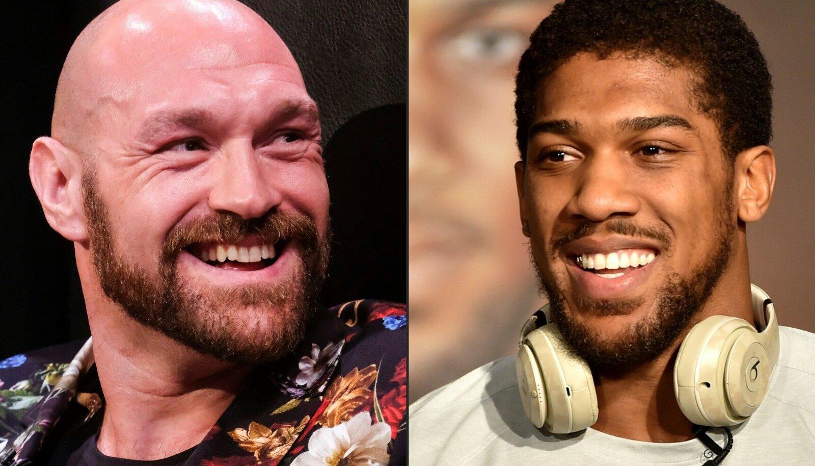 Tyson Fury vs Anthony Joshua.