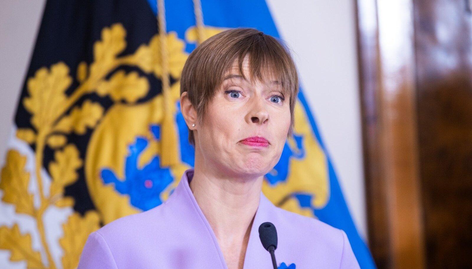 President Kersti Kaljulaid nimetas ametisse Eesti Panga uue presidendi Madis Mülleri