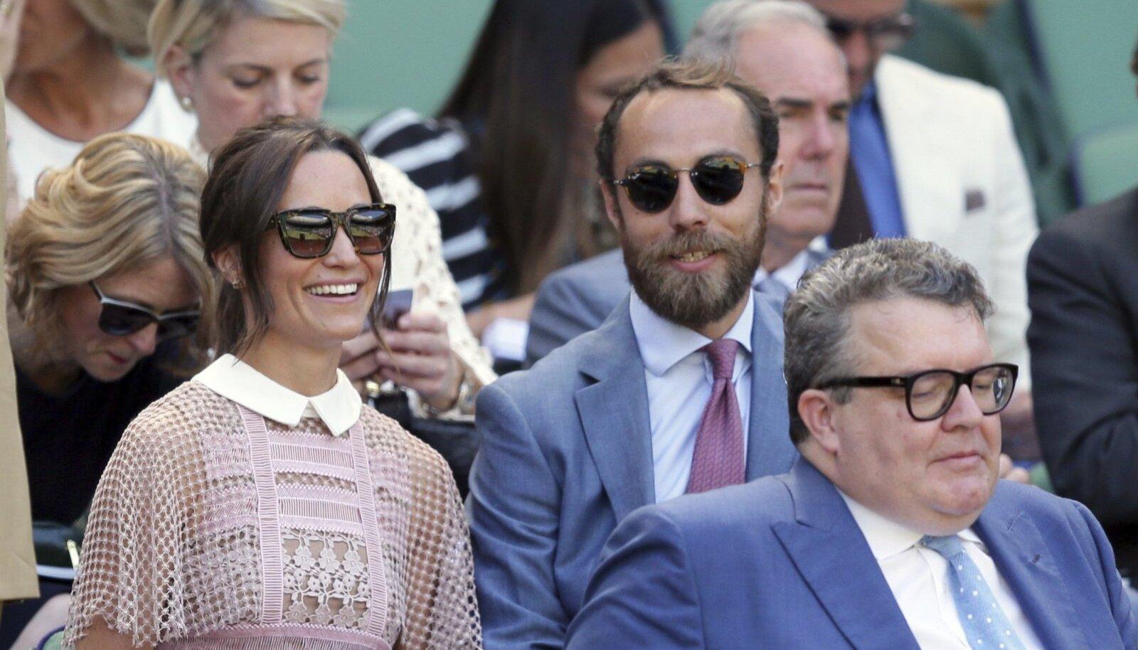 Pippa ja James Middleton