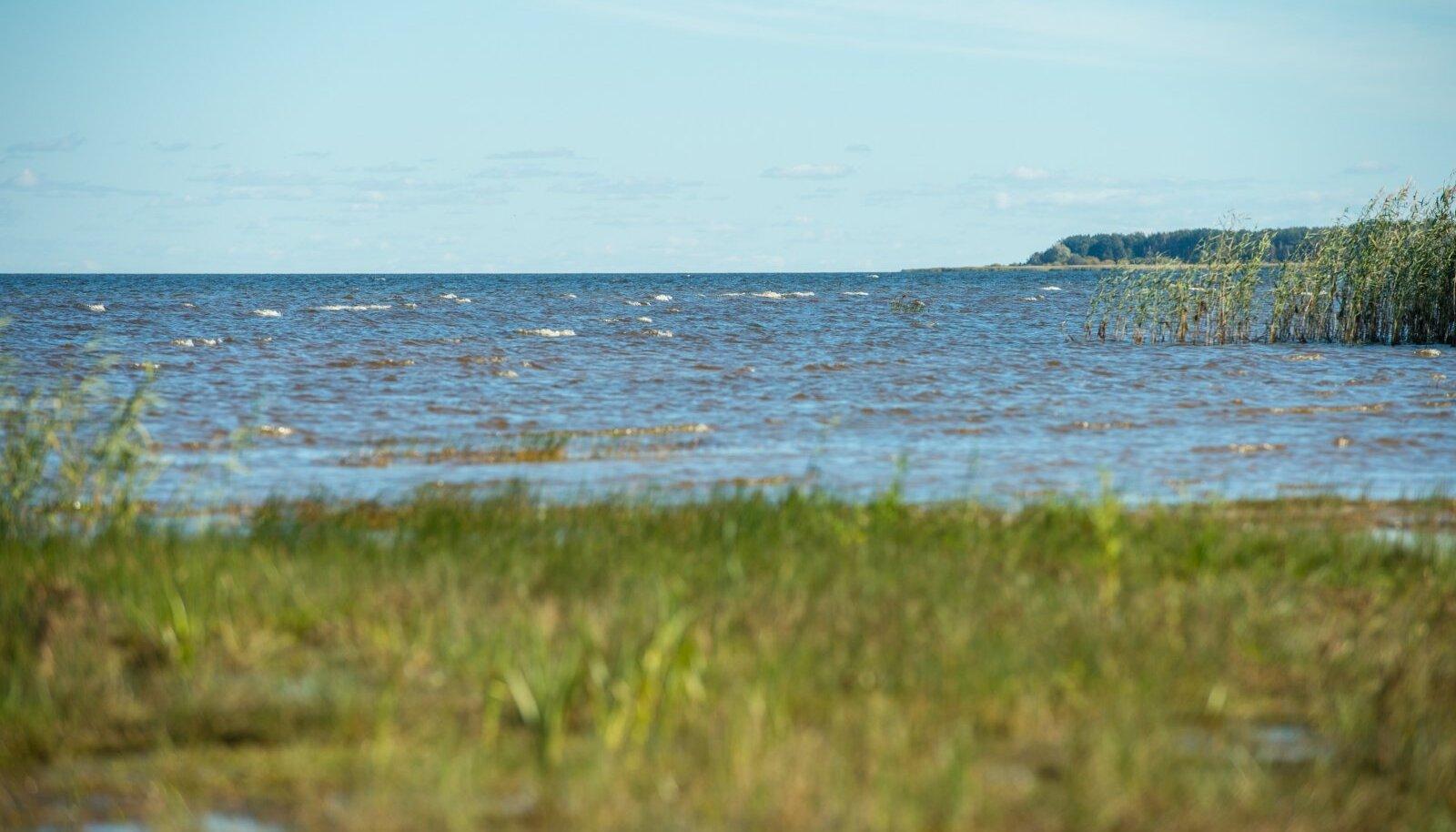 Peipsi järv septembris