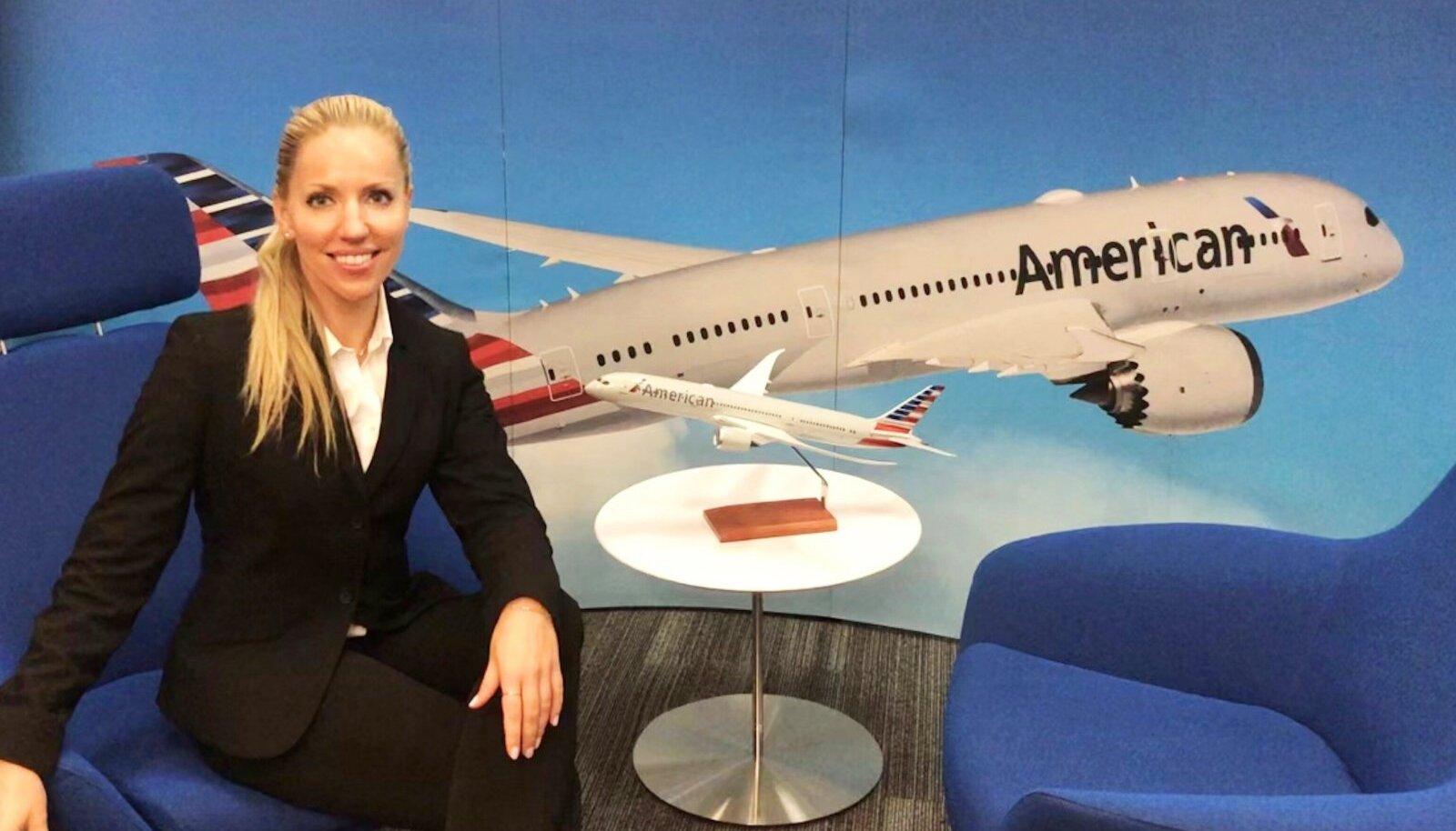 UUES AMETIS: American Airlinesis sai Kadi oma käsutusse palju suurema lennumasina kui senine Embraer. Temast sai Boeing 737-800 esimene ohvitser.