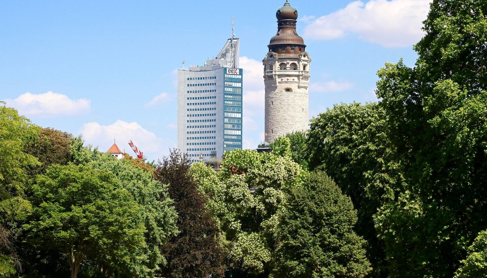 Leipzigis kasvavad puud (Foto: Pixabay / scholacantorum)
