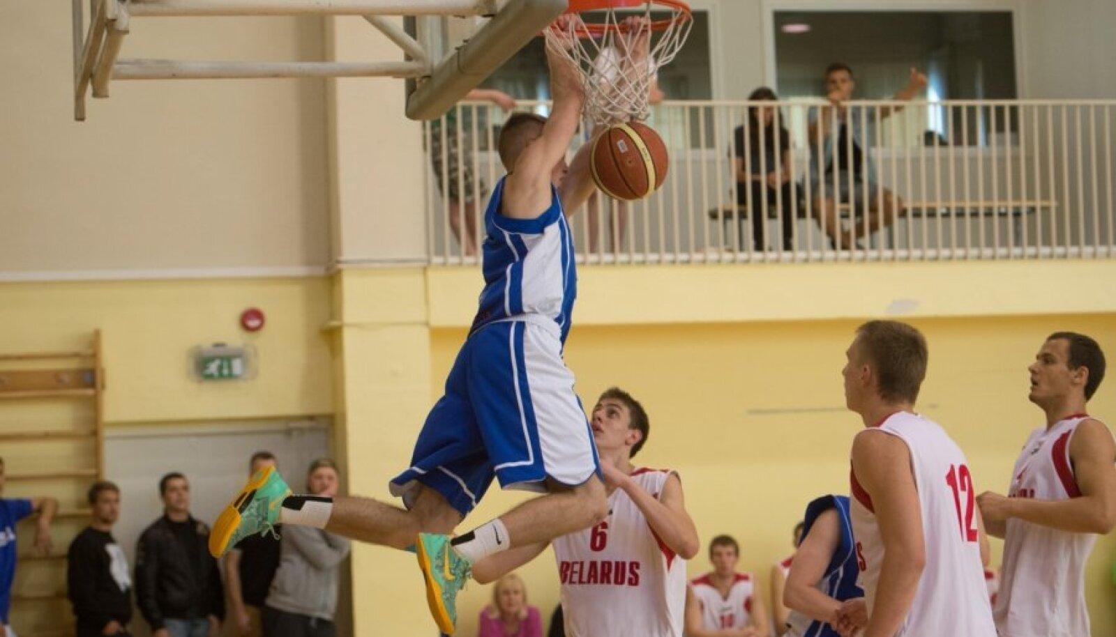 U 20 korvpall Eesti ja Valgevene