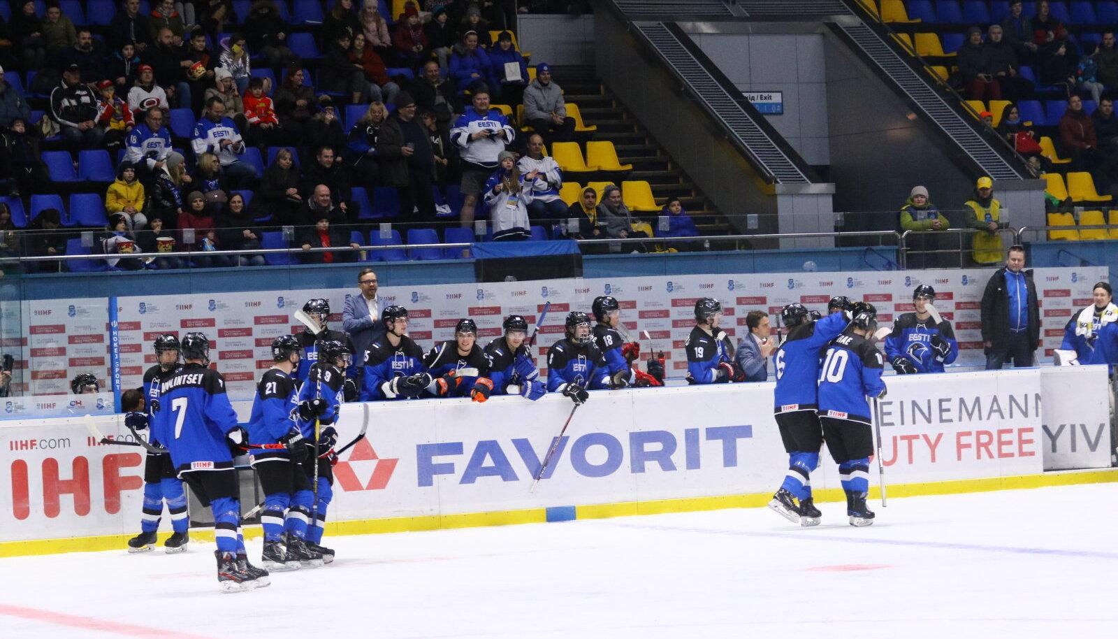 Eesti U20 jäähokikoondislased