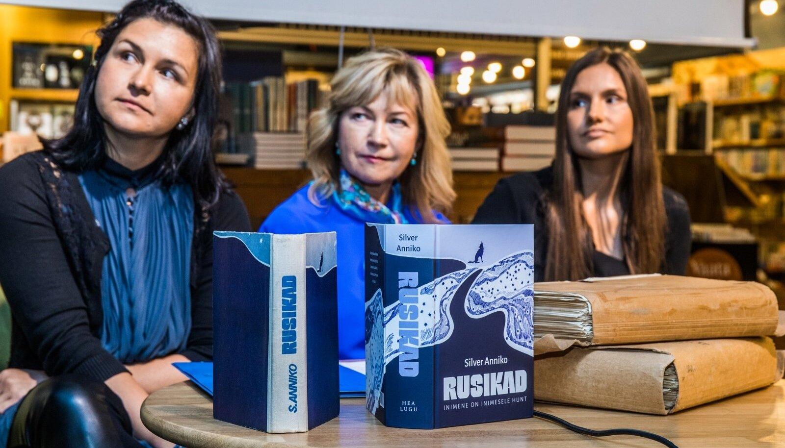 """Silver Anniko """"Rusikate"""" tsenseerimata trüki esitlus Viru Keskuse Rahva Raamatus"""