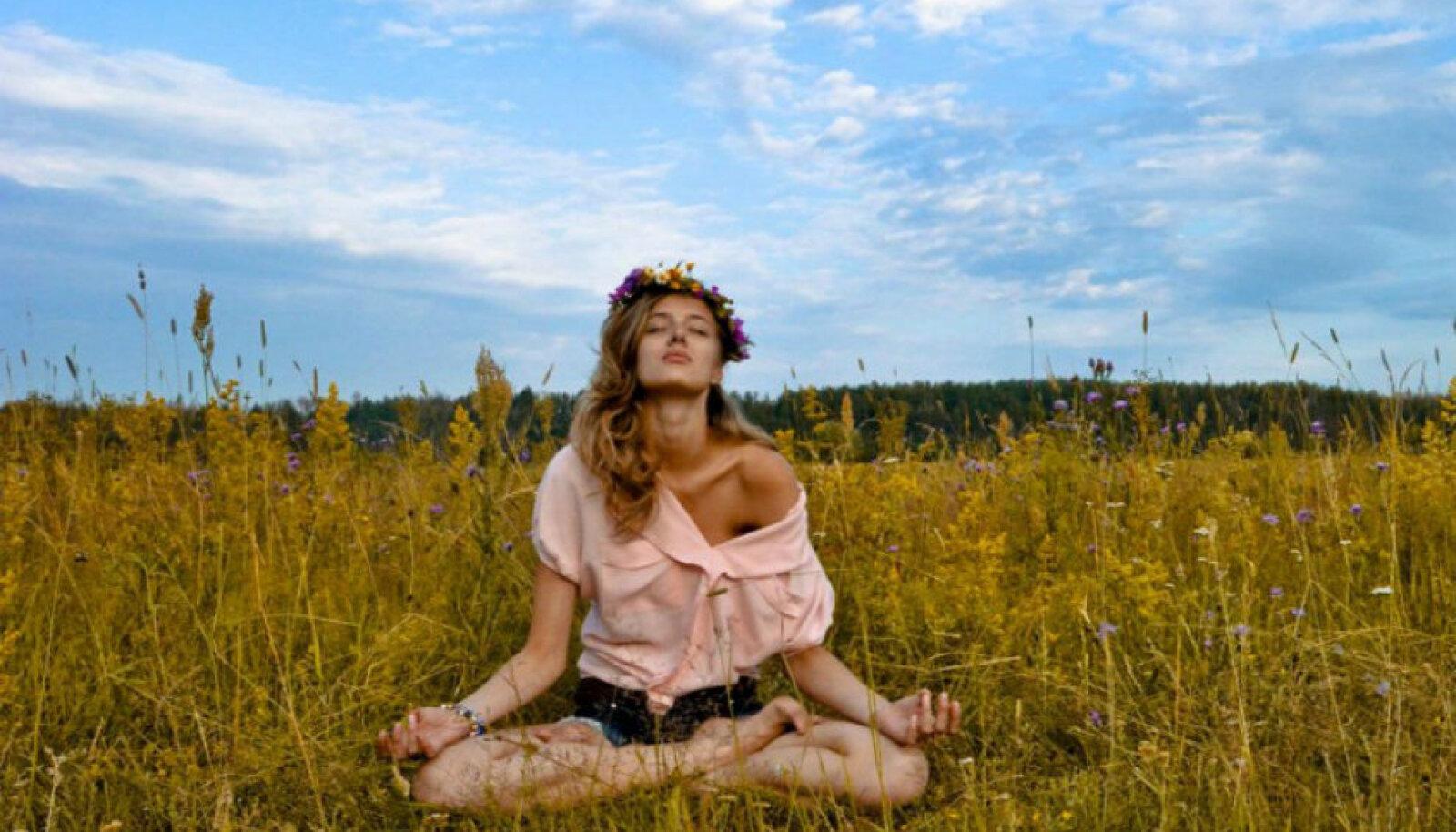 Hingamisruumi harjutus vähendab stressitaset