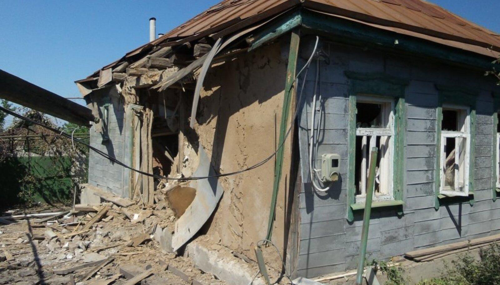 Ligi 600 000 Ida-Ukraina inimest on oma kodudest lahkunud