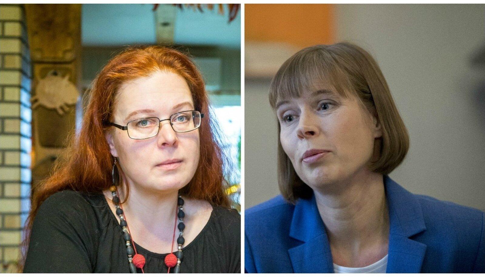 Aidi Vallik ja Kersti Kaljulaid