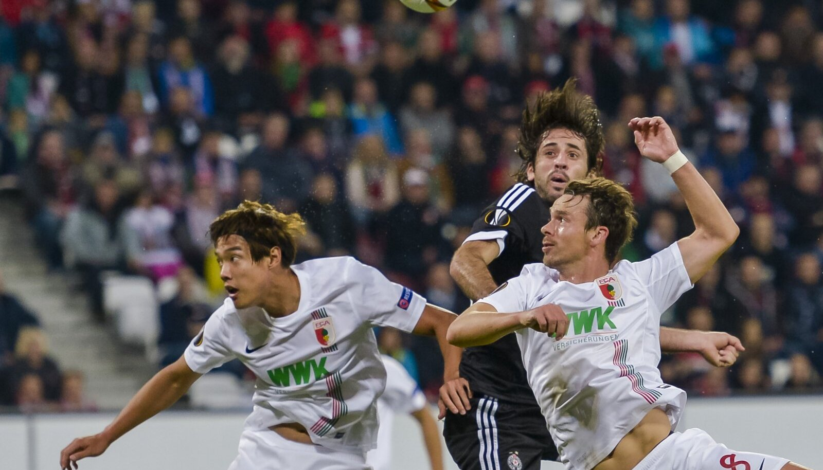Partizani mehed kerkisid täna Augsburgi mängijatest kõrgemale