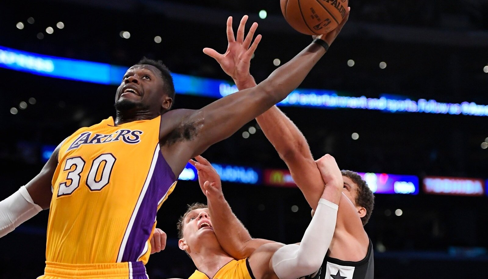 Julius Randle, Timofey Mozgov, Brook Lopez