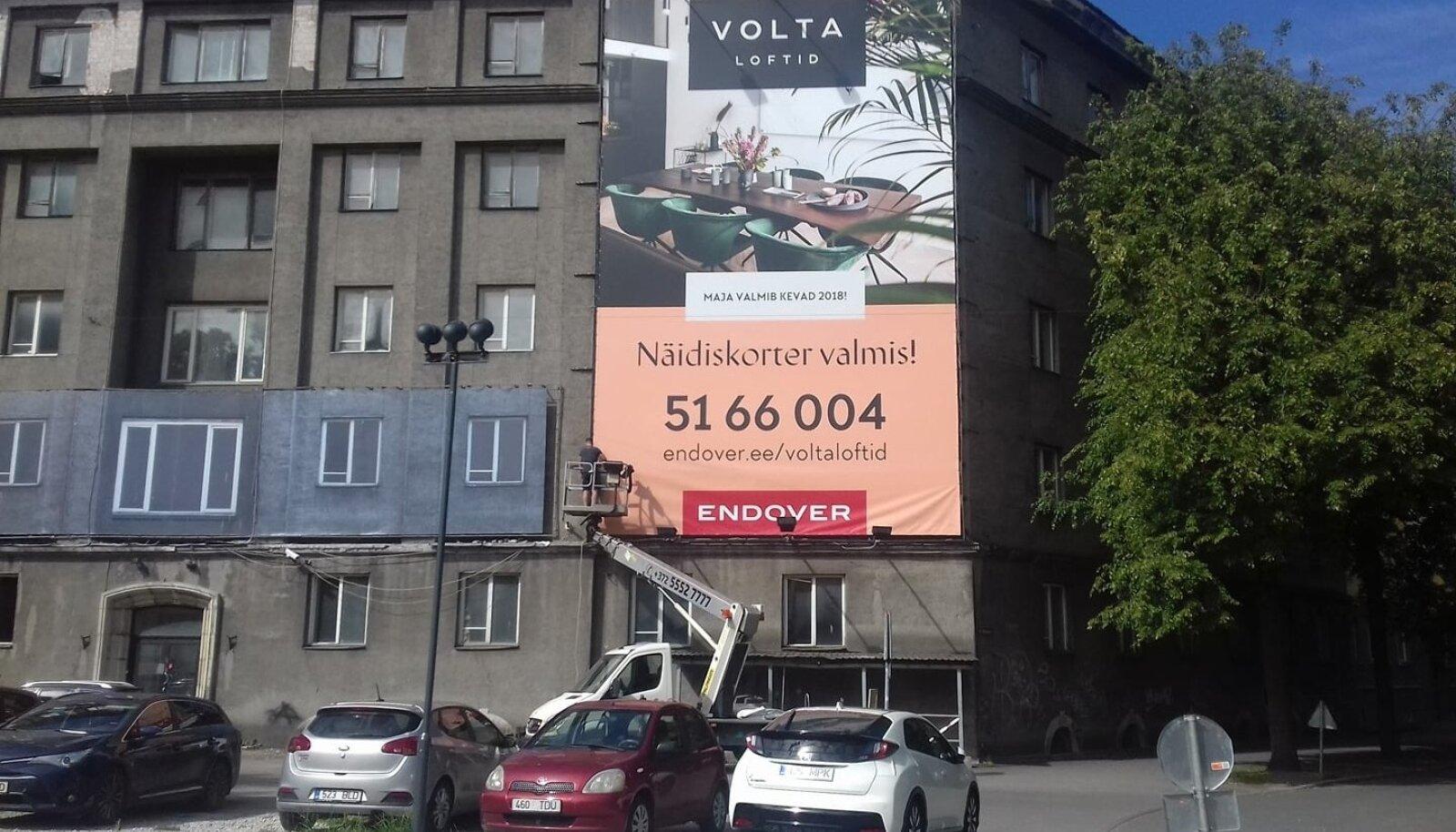 Volta Lofti reklaam võetakse maha