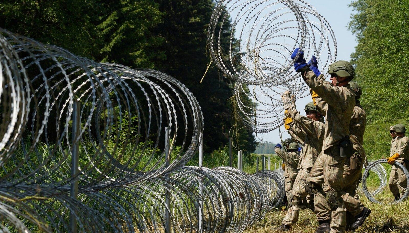 Leedu tugevdab oma piiri, kuidas jõuab