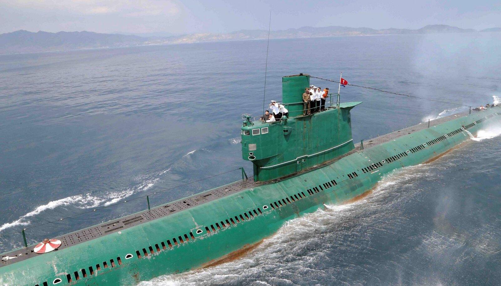 Selliste allveelaevadega tahab Põhja-Korea ameeriklasi kohutada.