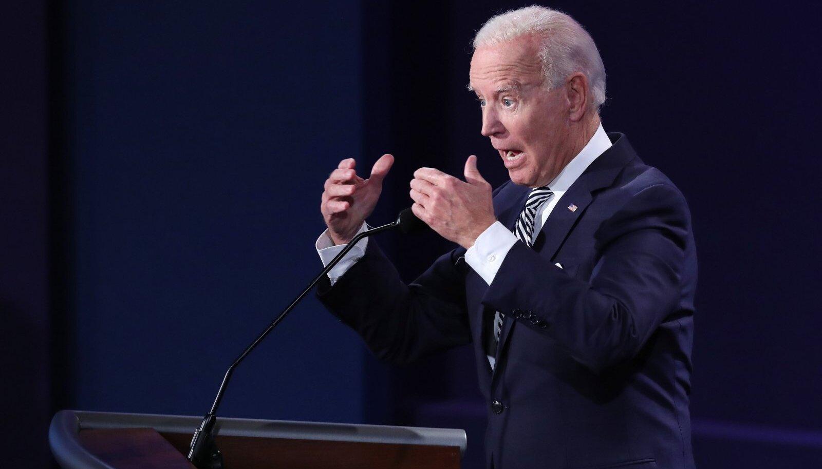 Biden on tuntud avalikel esinemistel juhtunud keelevääratuste poolest, mille ta ise paneb elupõlise kogelemise arvele.