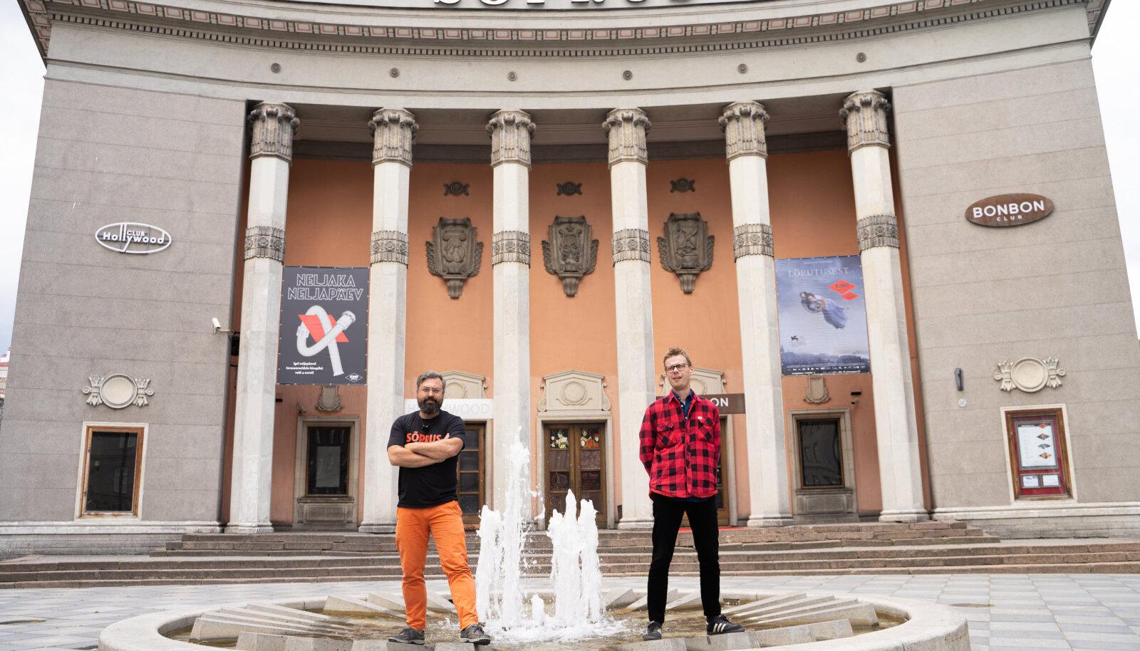 Indrek Kasela ja Ivar Murd
