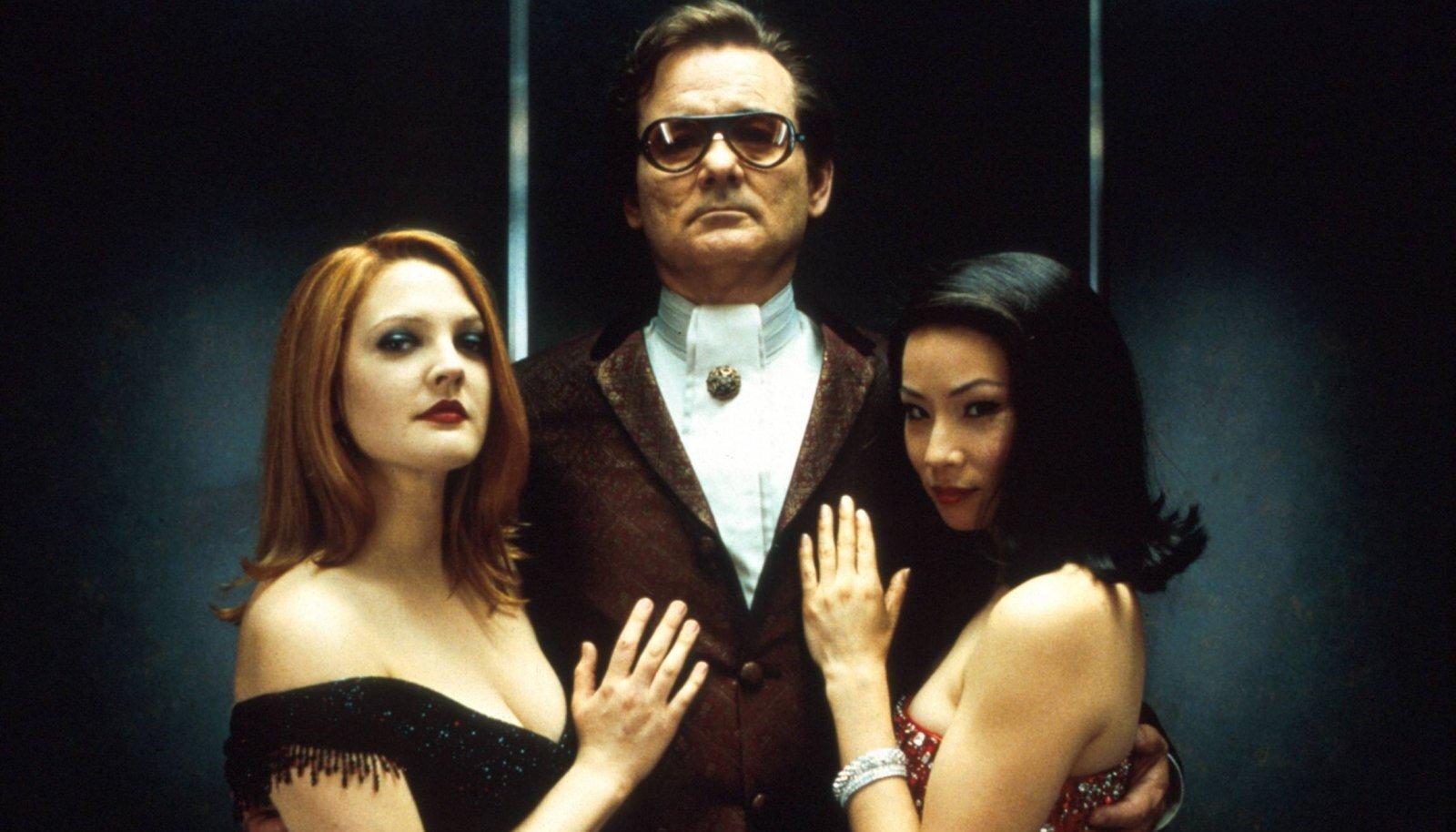 Drew Barrymore, Bill Murray ja Lucy Liu