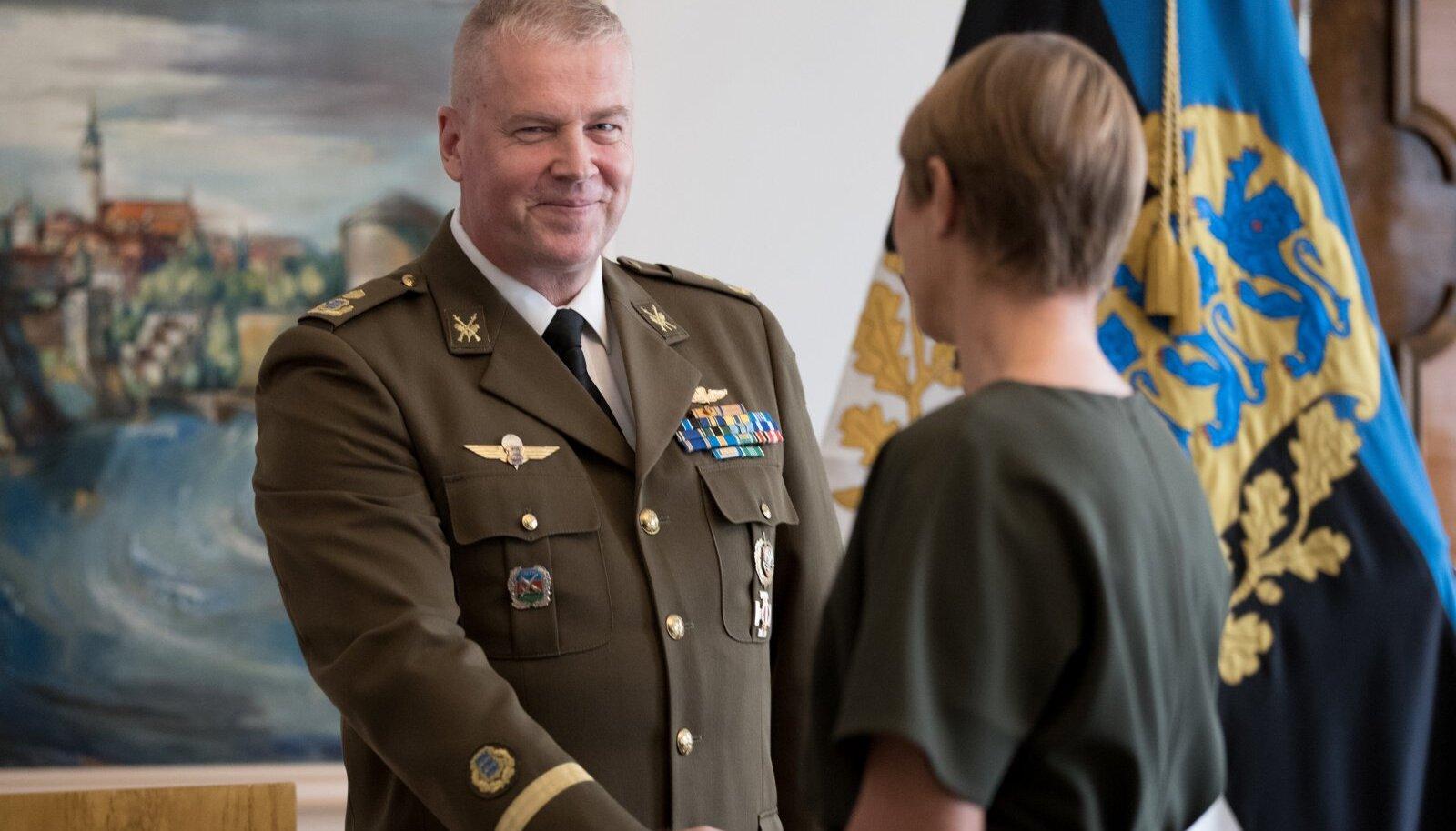 Kaitseliidu ülem Riho Ühtegi sai brigaadikindrali auastme