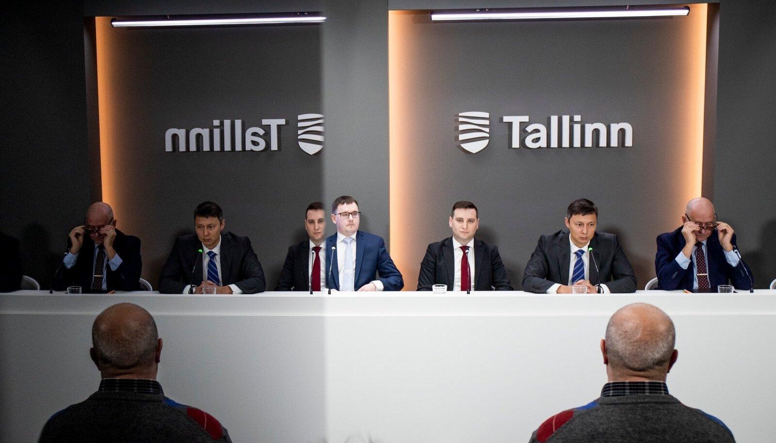 Tallinna linnavalitsuse pressikonverents 4.03.2020