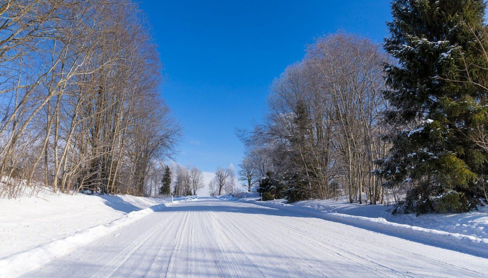 Talvine maantee