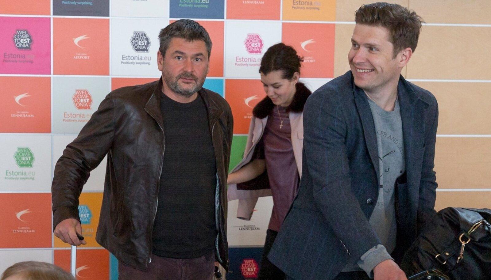 Oleg Ossinovski ja Anastasija Udalova