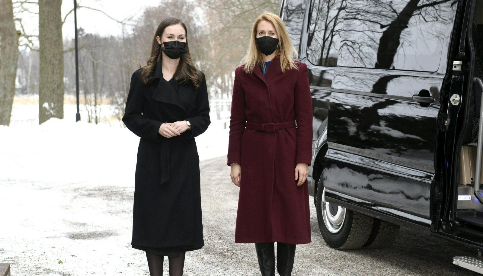 Sanna Marin ja Kaja Kallas