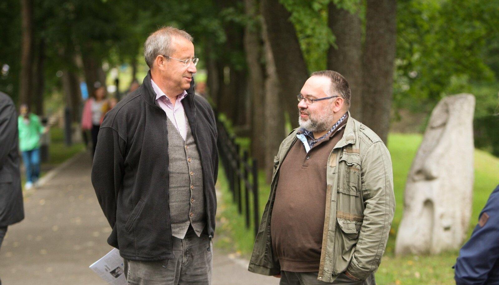 Töö käigus salvestas Maalehe ajakirjanik Argo Ideon president Toomas Hendrik Ilvesega umbes 15 tundi usutlusi.