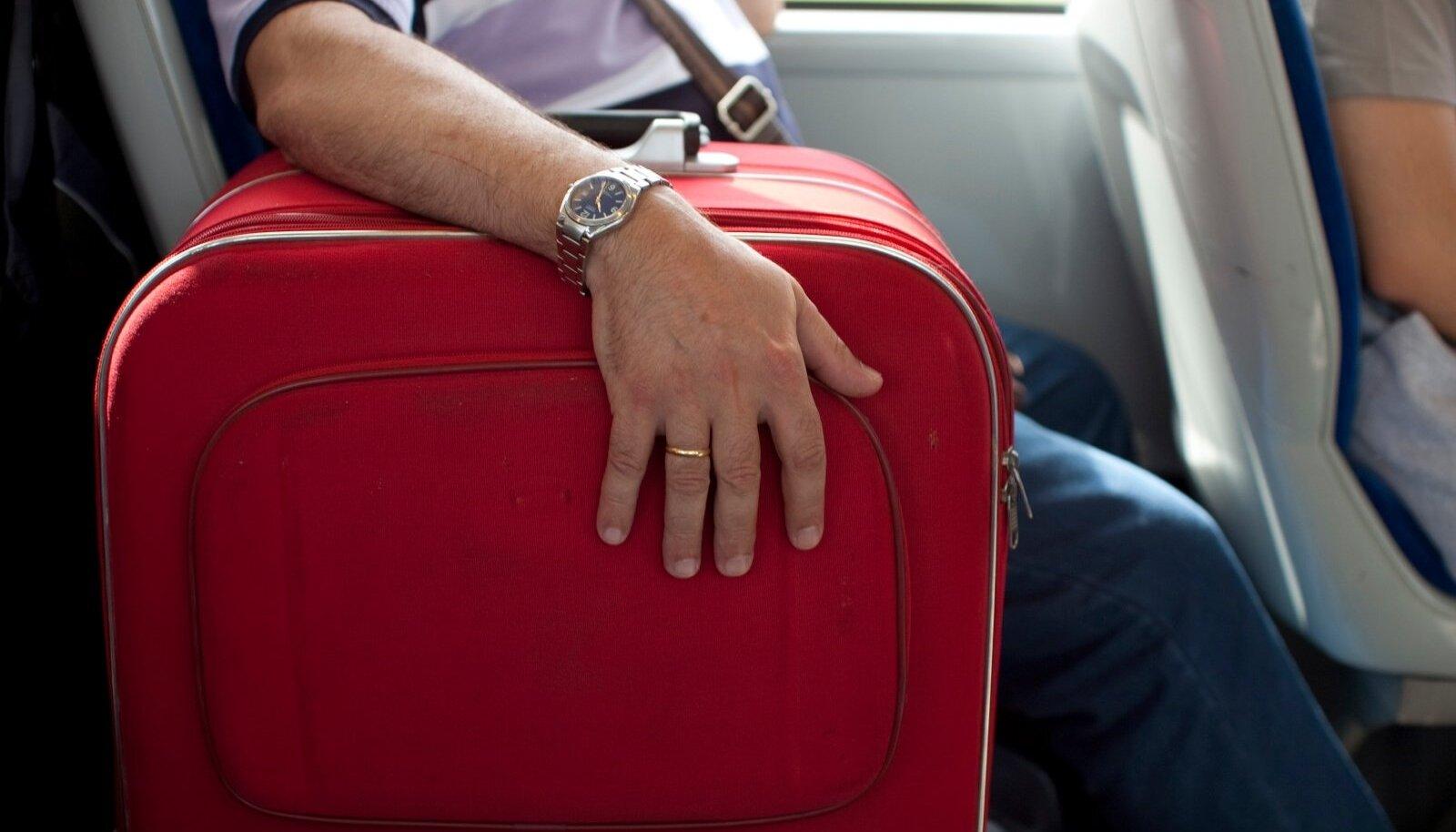 kohver, reis