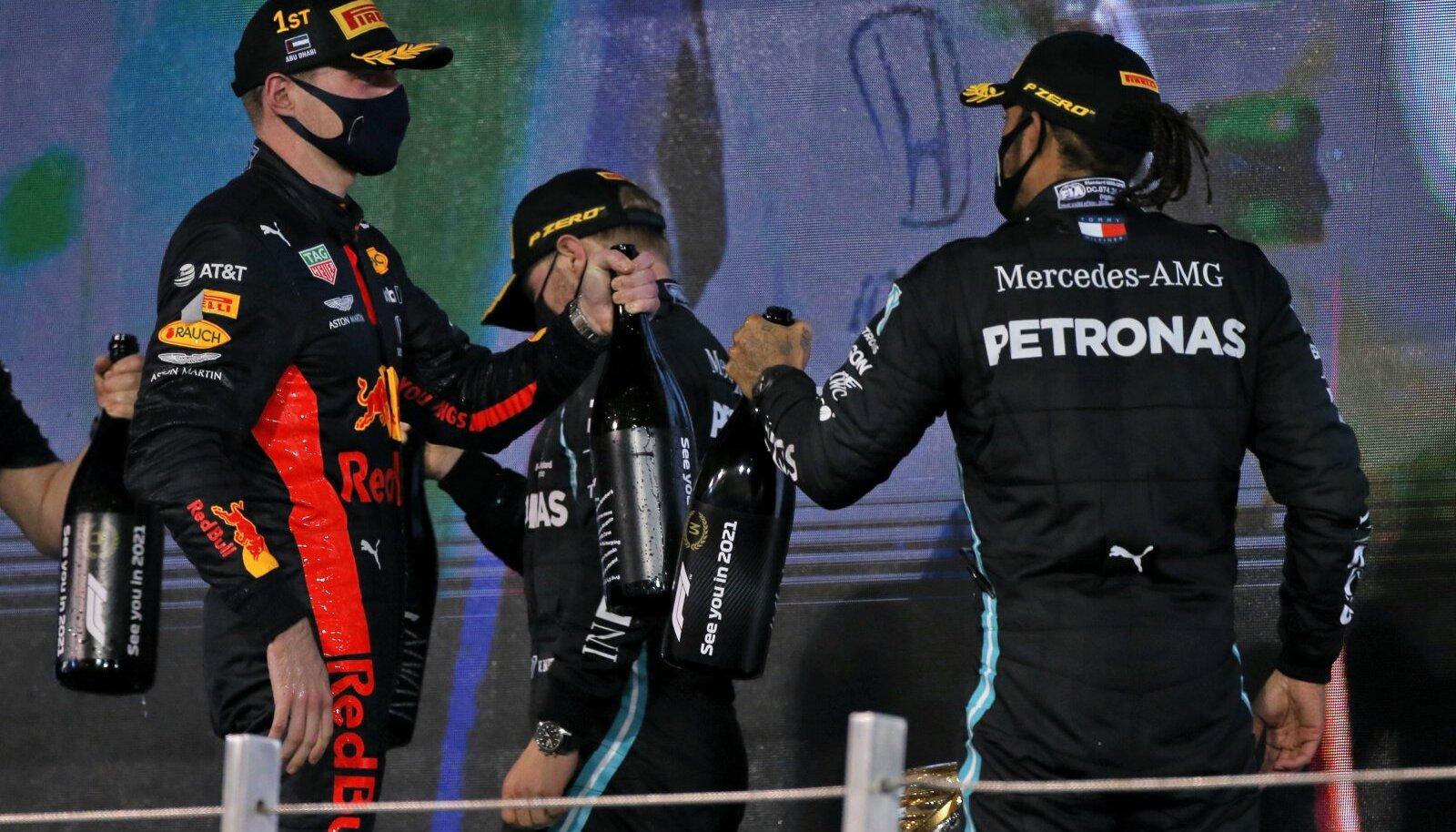 F1 sarja tänavune esikolmik lööb rõõmsalt pudeleid kokku.