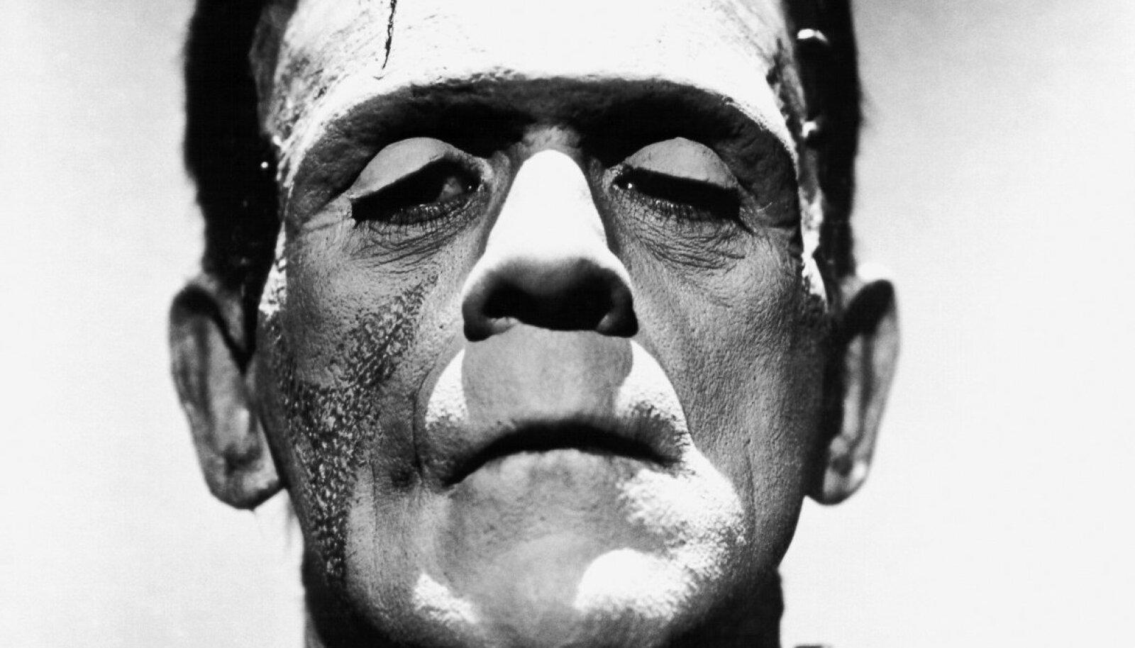 Boris Karloff Frankensteini koletisena 1930. aasta filmis.