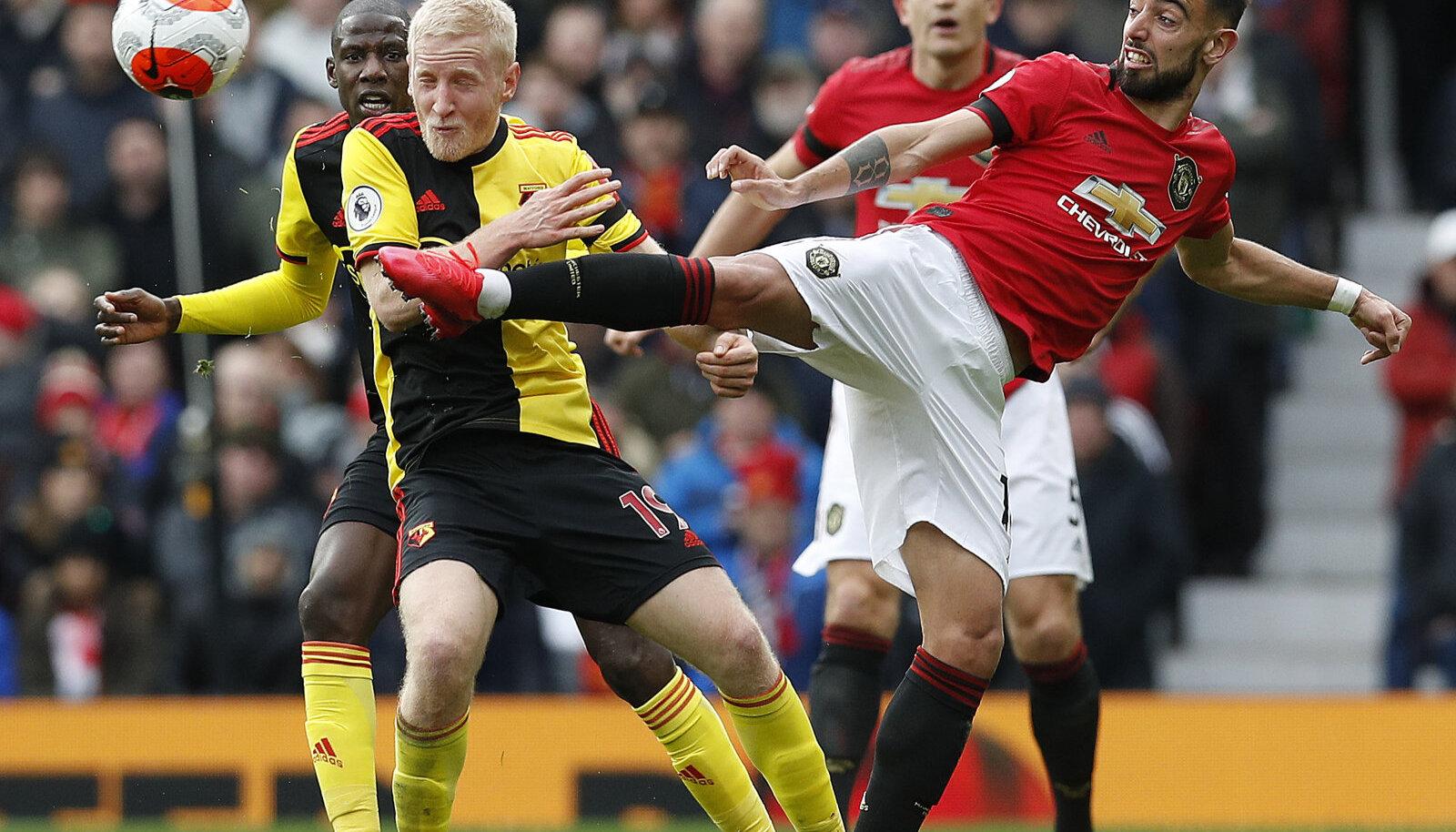Bruno Fernandes (paremal) on Unitedi ründemängu toonud uut hingamist.