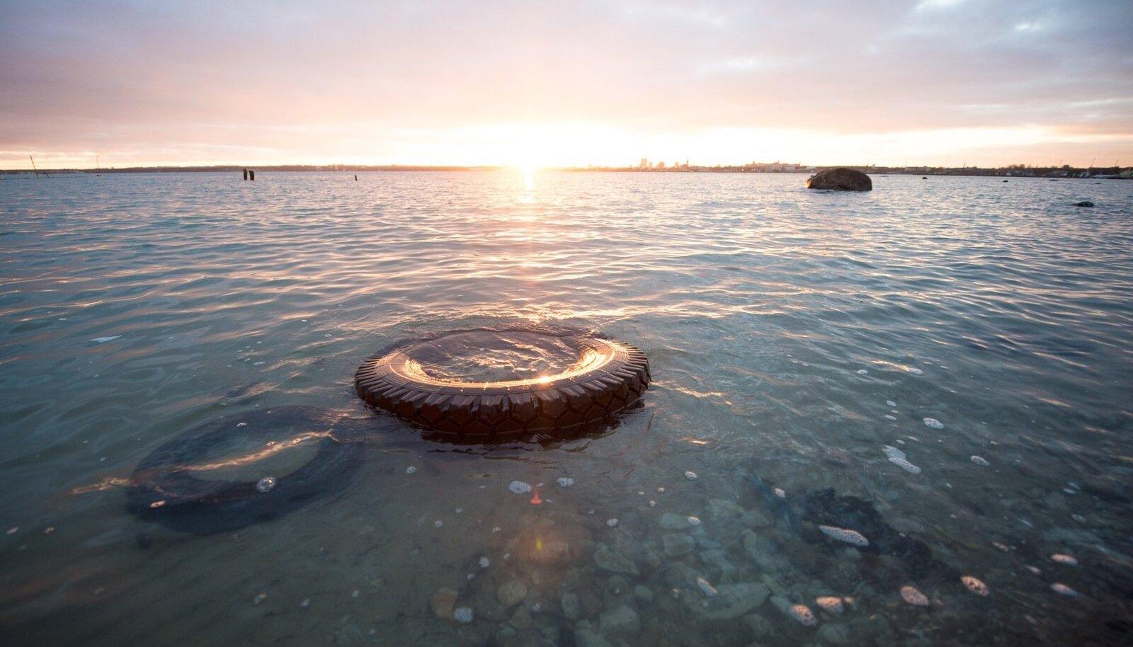 Illustratiivne pilt: päikesetõus Tallinnas