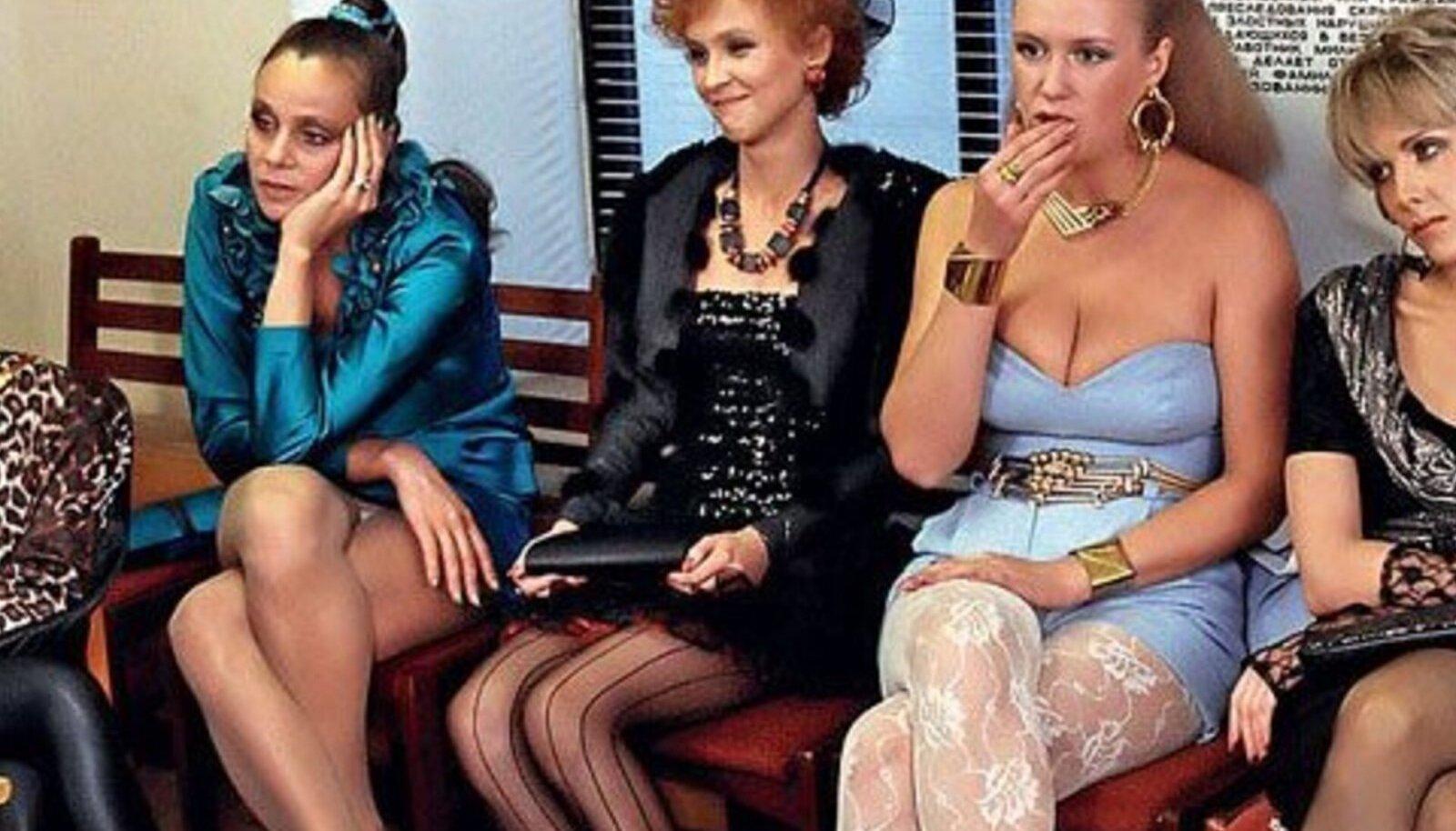 """1989. aasta film """"Intertüdruk"""" tõi esimest korda Nõukogude prostituudi elu kinolinale."""