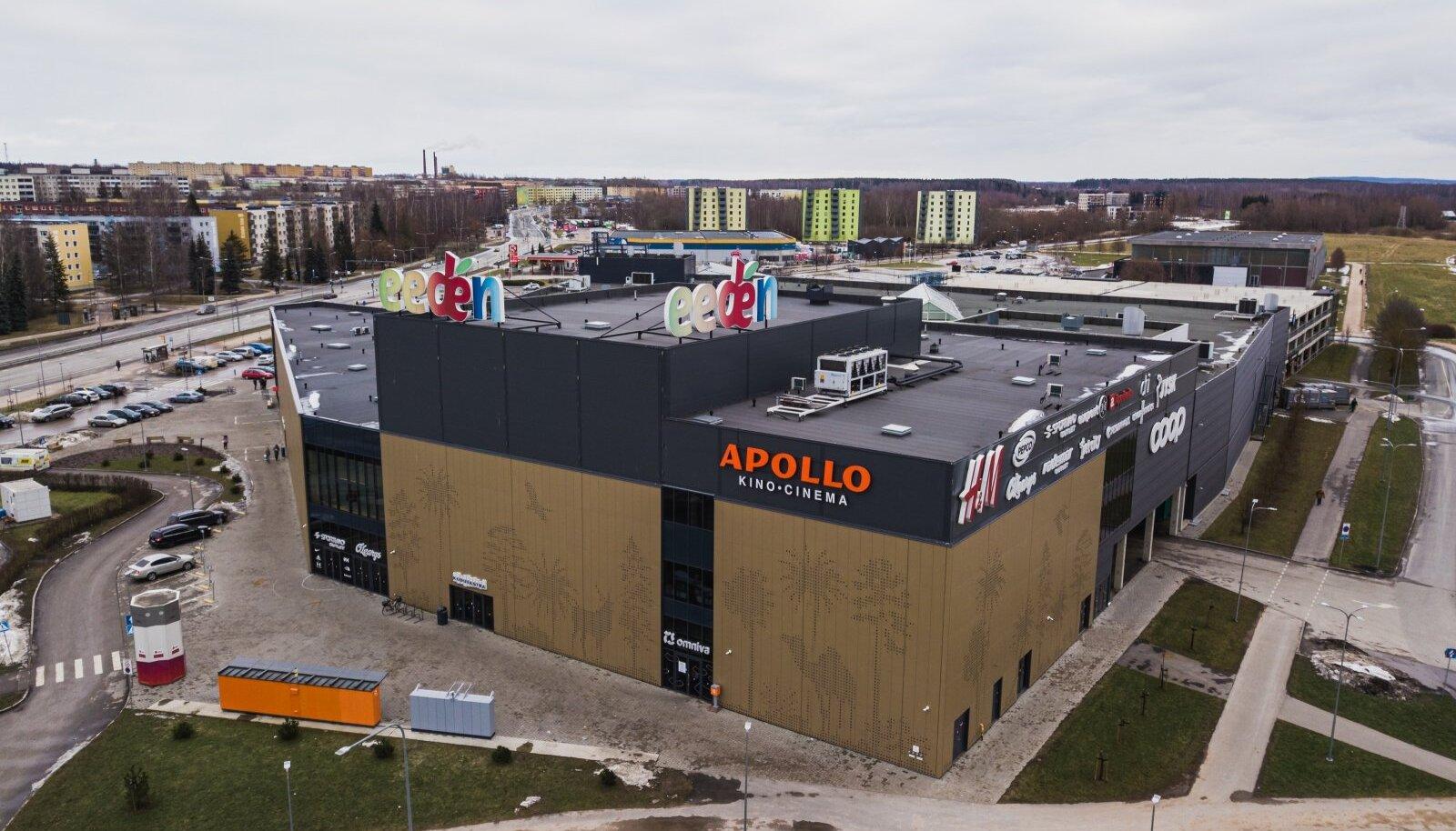 Eedeni laienduse üks osake peaks kuuluma Apollo Kino OÜ-le, kuid (nagu konkurent kahtlustas) pole tehingut lõpetatud.